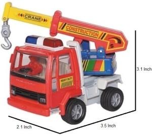 Centy Toys Ashok Leyland CraneRed