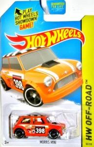 Hot Wheels Morris Mini Orange 80 250 Orange Best Price In India