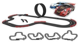SCX Slot Cars Compact Max Speed Set With Wireless Hand ControlsMulticolor