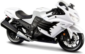 Maisto Kawasaki Ninja Zx 14r Diecast Bike Black White Best Price In