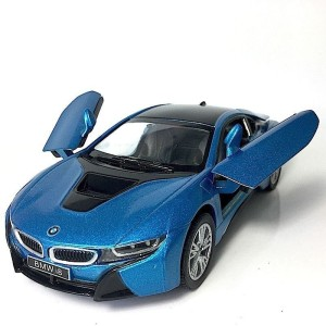 Kinsmart Bmw I8 Concept Blue Multicolor Best Price In India