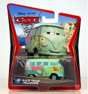 Disney Pixar Cars Micro Drifters 1 55 Cast Car Raoul Caroule