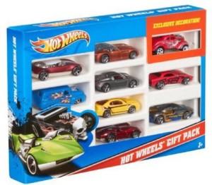 Hot Wheels 9 Car Set Gift Pack