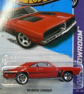 Hot Wheels HW Showroom 223 250 69 Dodge Charger