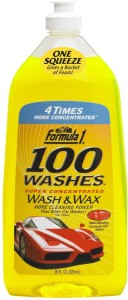 Formula 1 100 Washes Car Washing Liquid