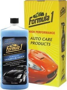 Formula 1 Premium Wash & Wax Car Washing Liquid