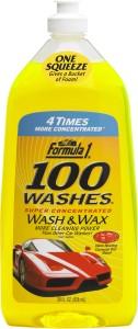 Formula 1 Wash & Wax Car Washing Liquid