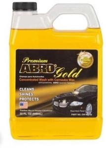 Abro Premium Gold + Super Sponge Car Washing Liquid