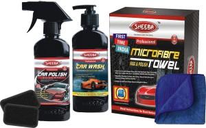 Sheeba Wash With Shine Pack Car Washing Liquid