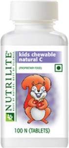 Amway Nutrilite kids chewable natural C