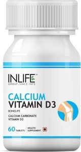Inlife Calcium Vitamin D3 for Healthy Bone & Joint Health
