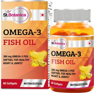 St. Botanica Fish Oil 1000mg - 300mg Omega 3