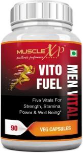 MuscleXP Vito Fuel Men Vital - Blend of Shilajit, Safed Musli, Ashwagandha, Mucuna, Tribulus