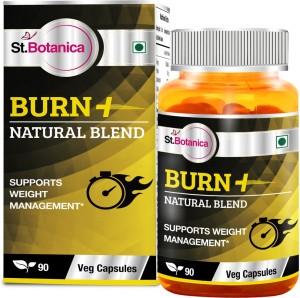 St. Botanica Burn+ Weight Management - Blend of Green Coffee Bean, Garcinia Cambogia, Green Tea and more.