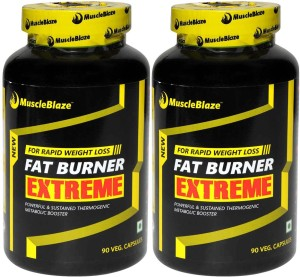MuscleBlaze Fat Burner Extreme (Pack of 2)
