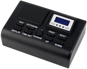 Guruji Mart 0008 Telephone Voice Recorder 256 MB Voice Recorder