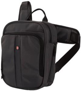 Victorinox Vertical Deluxe Travel Companion Waist Pack Black Best ... a8fd2114d1f30