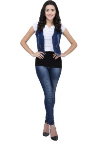 0f6040c85e7 Style Souk Solid Women s Waistcoat Best Price in India