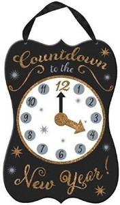 Amscan New Year's Wooden Countdown