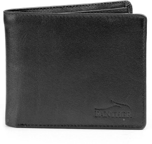 Panther Boys Black, Brown Genuine Leather Wallet