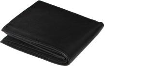 SAW LEATHER GOODS Men Black Genuine Leather Wallet