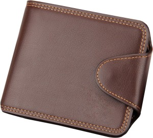 Accezory Men Brown Artificial Leather Wallet