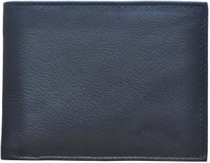 Printz Men Black Genuine Leather Wallet