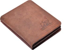 Bull Kraft Men Brown Genuine Leather Card Holder