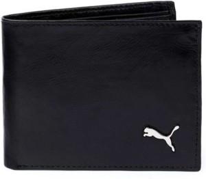 Fashion Guru Trading Men Black Genuine Leather Wallet