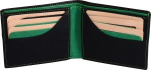 Money max Men Black Genuine Leather Wallet