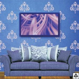Zara Stencil Romance Wallpaper