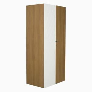 Godrej Interio Fiesta 2 Door Wardrobe Engineered Wood Free Standing Wardrobe