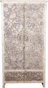The Attic Solid Wood 2 Door Wardrobe