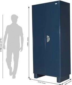 b289760d8 Godrej Interio Storwel M2 Metal Almirah Finish Color Blue Best Price in  India