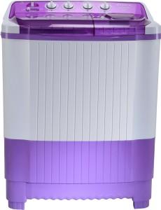 Intex 8.0 kg Semi Automatic Top Load Washing Machine White, Purple