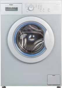 Haier 6 kg Fully Automatic Front Load Washing Machine White