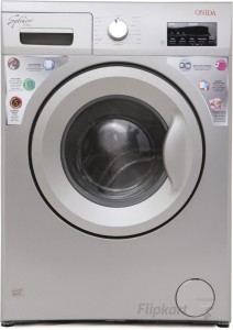 Onida 6 kg Fully Automatic Front Load Washing Machine Silver