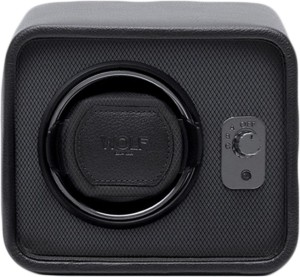 wolf 4524 029 automatic 2 watch winder black best price in india