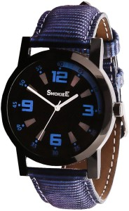 The Smokiee T-S-091019 Nylon Navy Blue Band  Analog Watch  - For Boys