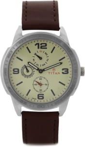 Titan 1585SL05 Purple Analog Watch  - For Men