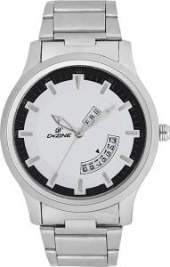 Dezine DZ-GR1201-WHT Analog Watch  - For Men