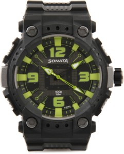 Sonata NH77014PP03CJ Ocean Analog Watch  - For Men