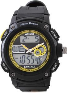 Sonata NH7989PP02J Ocean Analog-Digital Watch  - For Men