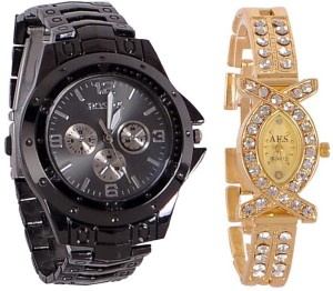 Rosra C1 Analog Watch  - For Couple