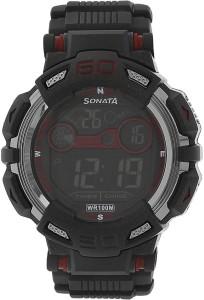SF NH77009PP01J Digital Watch  - For Men