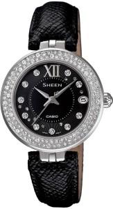 Casio SX117 Sheen Analog Watch  - For Women
