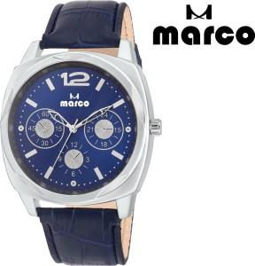 Marco elite mr-gr 2004-blu-blu Analog Watch  - For Men