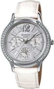 Casio SX090 Sheen Analog Watch  - For Women