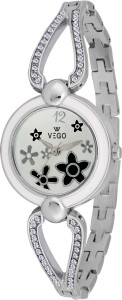 Vego AGF031 Vego Silver Color Analog Watch For Women's(AGF031) Analog Watch  - For Women