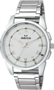 MARCO ELITE MR-GR 250 WHITE-CH Analog Watch  - For Men